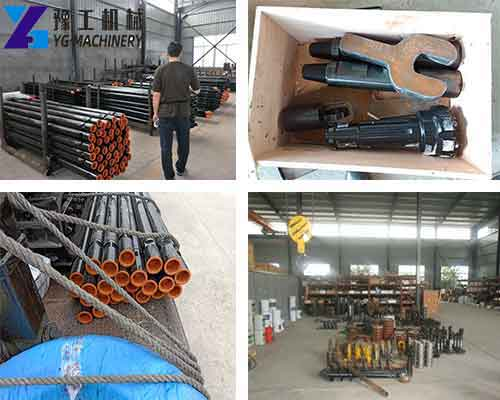 Accessories of Crawler Drilling Rig in YG