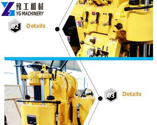 Core Drilling Machine Features