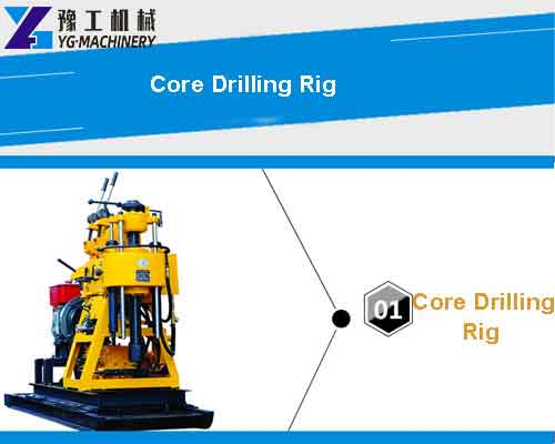 Core Drilling Rig Details