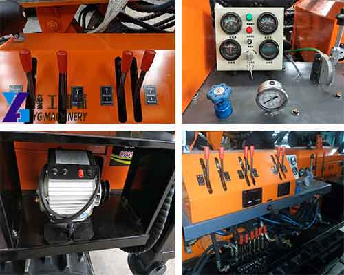 Details of FYX-180 Water Well Drilling Rig