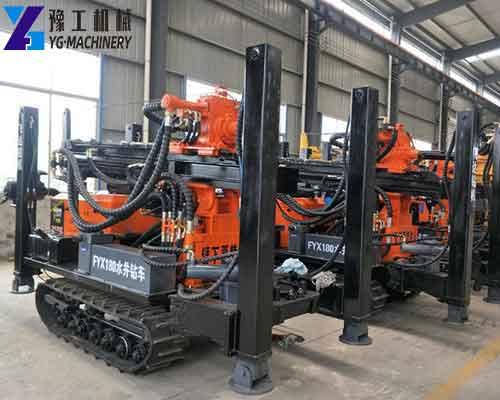 FYX Crawler Water Well Drilling Rig