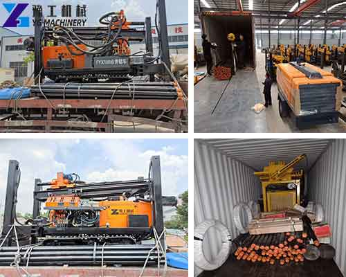 Package of Crawler Water Well Drilling Rig