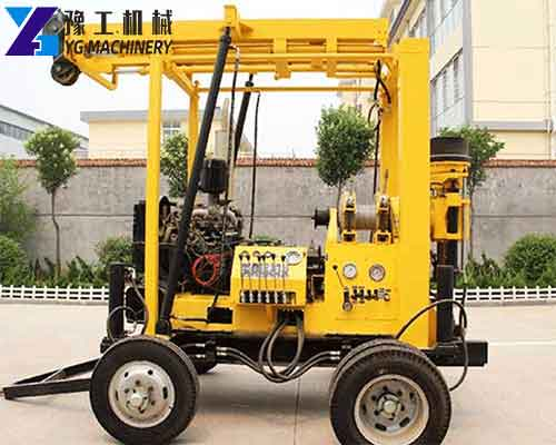 XYX-3 Trailer Mounted Water Well Drilling Rigs for Sale