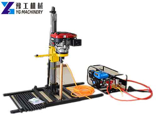 Backpack Core Drill Rig