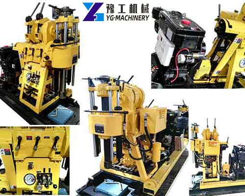 Details of Hydraulic Core Drilling Machine