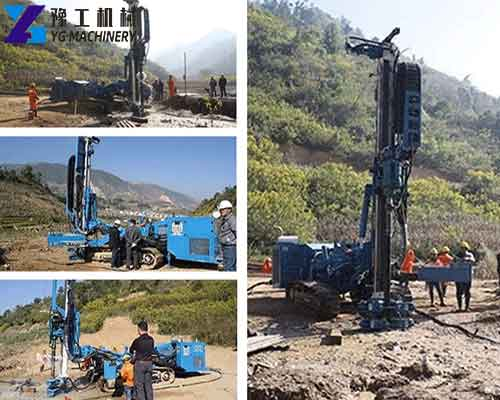 Drilling Rig Working