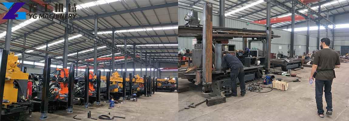 Factory of Henan YG Machinery