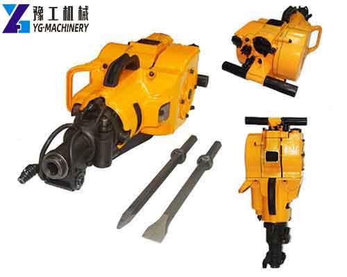 Gasoline Rock Drilling Machine