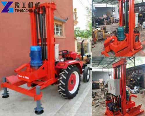 HY-500 Portable Water Drilling Machine for Sale