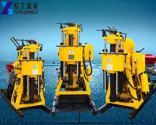 Hydraulic Water Well Drilling Rig for Sale