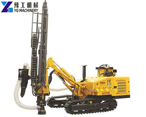 SK180 Crawler Mounted DTH Drilling Machine