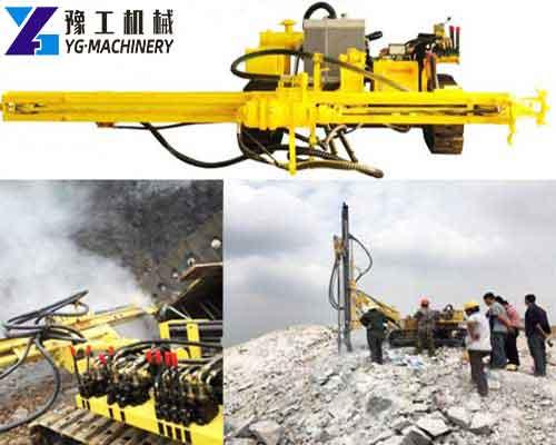 SKL-100T Crawler DTH Drilling Rig for Sale