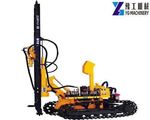 SKL100A Diesel Crawler DTH Drilling Rig