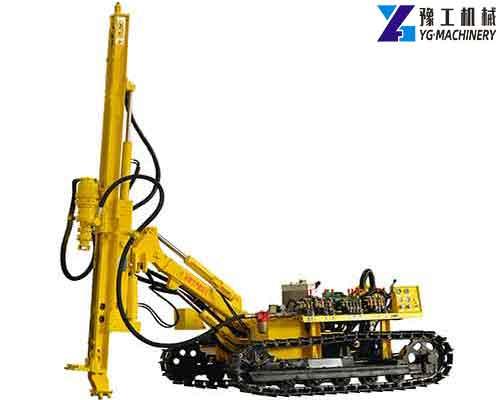 SKL100T Crawler DTH Drilling Rig
