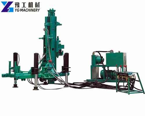 Split Anchor Drilling Rig