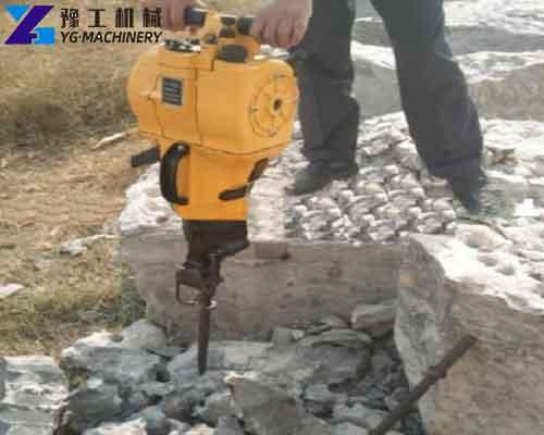 The Application of Gasoline Rock Drill Machine
