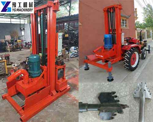 Trailer Mounted Water Well Drilling Rigs for Sale