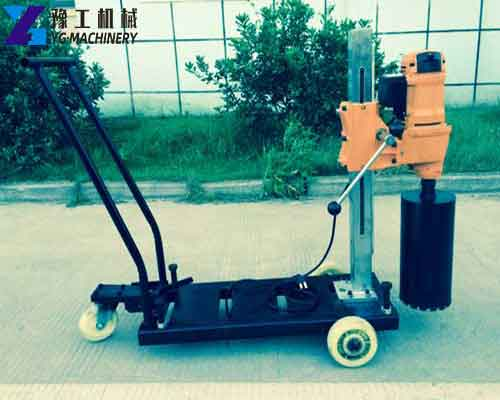 Trailer Type Diamond Coring Machine