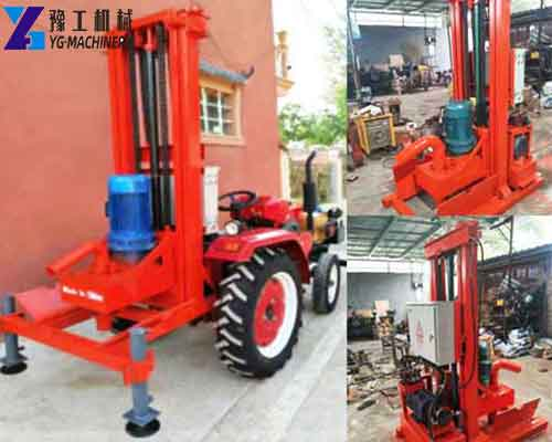 Trailer Water Well Drilling Equipment