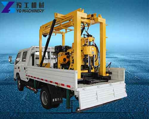 Truck Mounted Water Well Drilling Rig for Sale