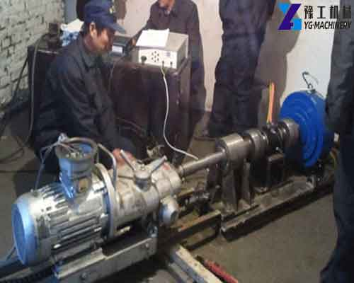 Use of Electric Rock Drill