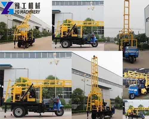XYC-200A Tractor Mounted Water Well Drilling Rig for Sale