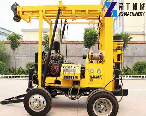 XYX-3 Hydraulic Water Well Drilling Rig