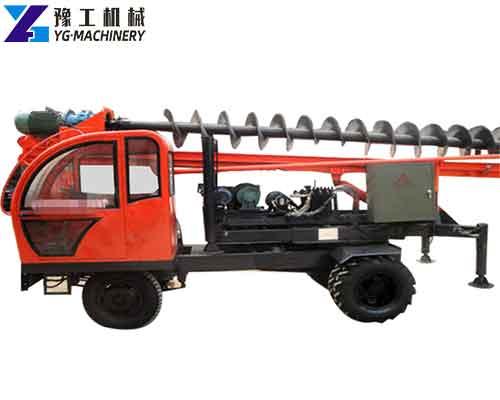 YG-32 Spiral Pile Driver Machine
