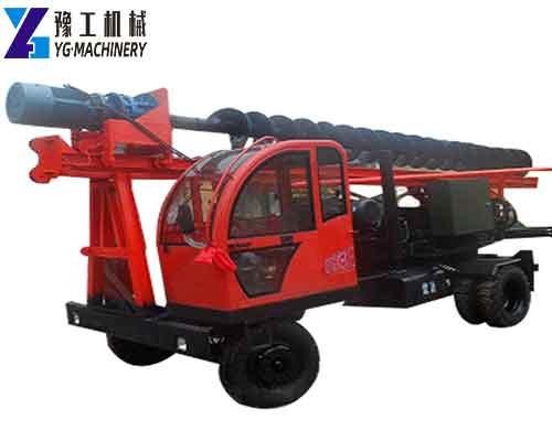 YG-32 Spiral Pile Driver