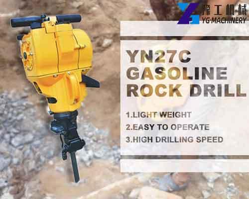 YN-27C Gasoline Rock Drill Machine