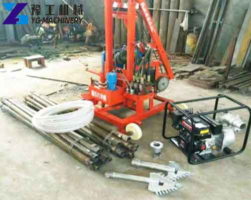 ZX-220 Portable Water Well Drilling Machine