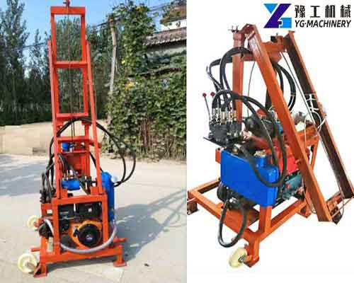 ZX-280 Diesel Hydraulic Water Well Drilling Rig